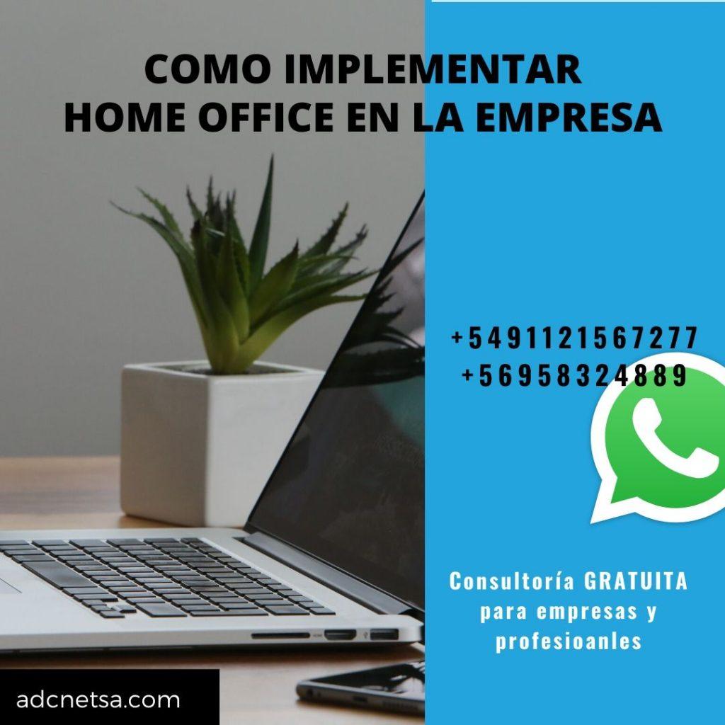 Cómo implementar Home Office en la empresa | Solicite consultoría gratuita