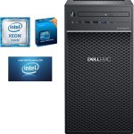 Servidor Dell PowerEdge T40 BTX Intel Xeon E-2224G 3 5 GHz, 8GB 2666MT s DDR4, 1TB 7 2K RPM SATA