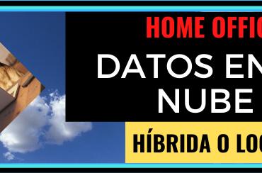 Datos en la nube local o híbrida.