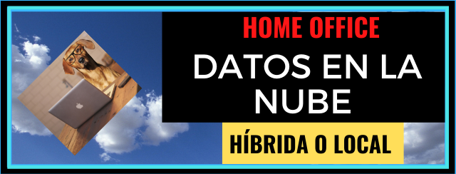 Datos en la nube local o híbrida.